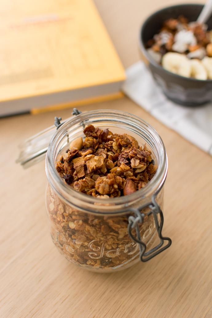 granola bananes et noix 100 vgtal petit dej granola