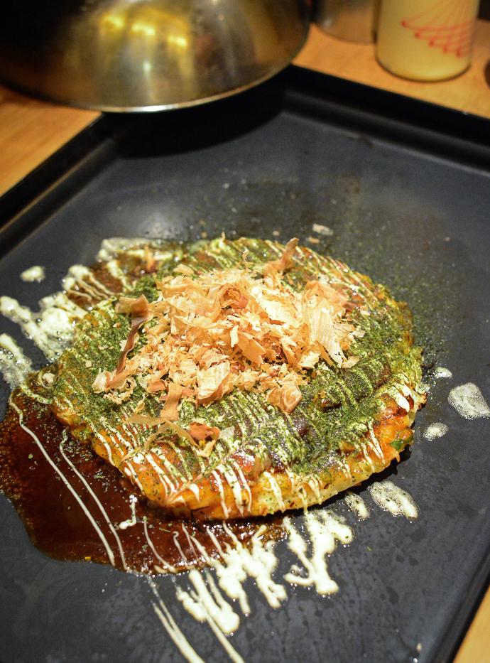Okonomyaki Kansai Porc – Restaurant Atsu Atsu Paris
