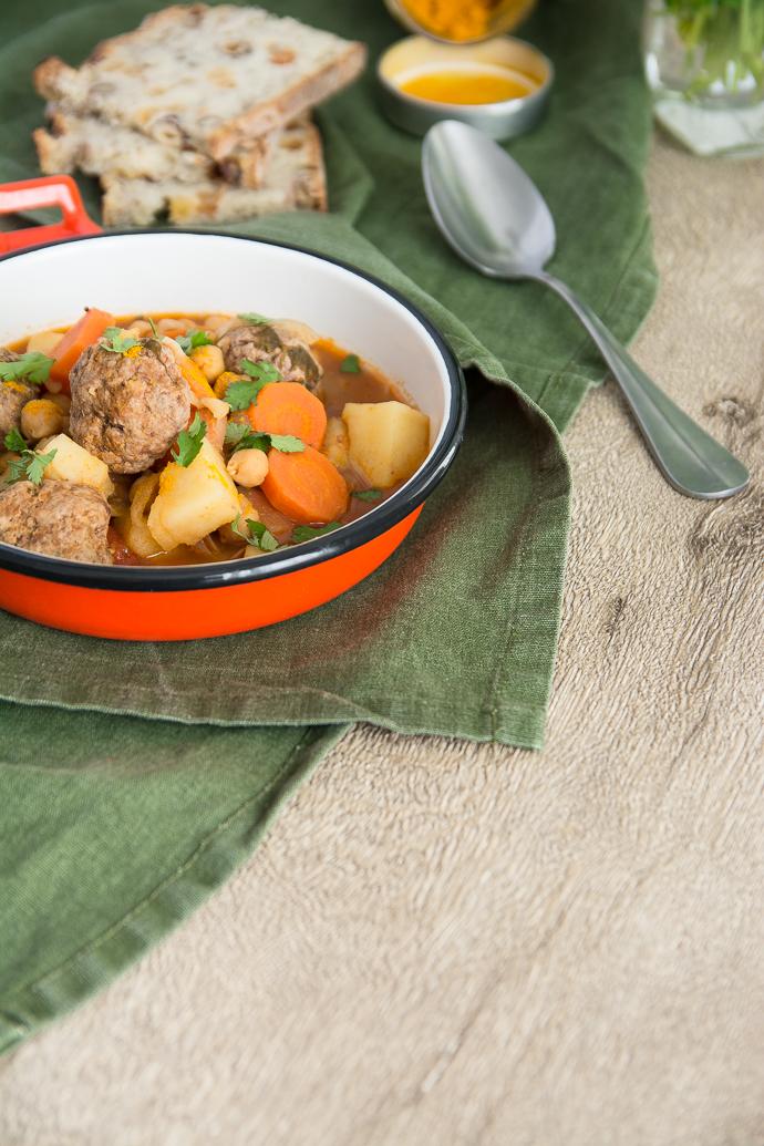Recette simple de margha boulette pour accompagner le couscous du dimanche