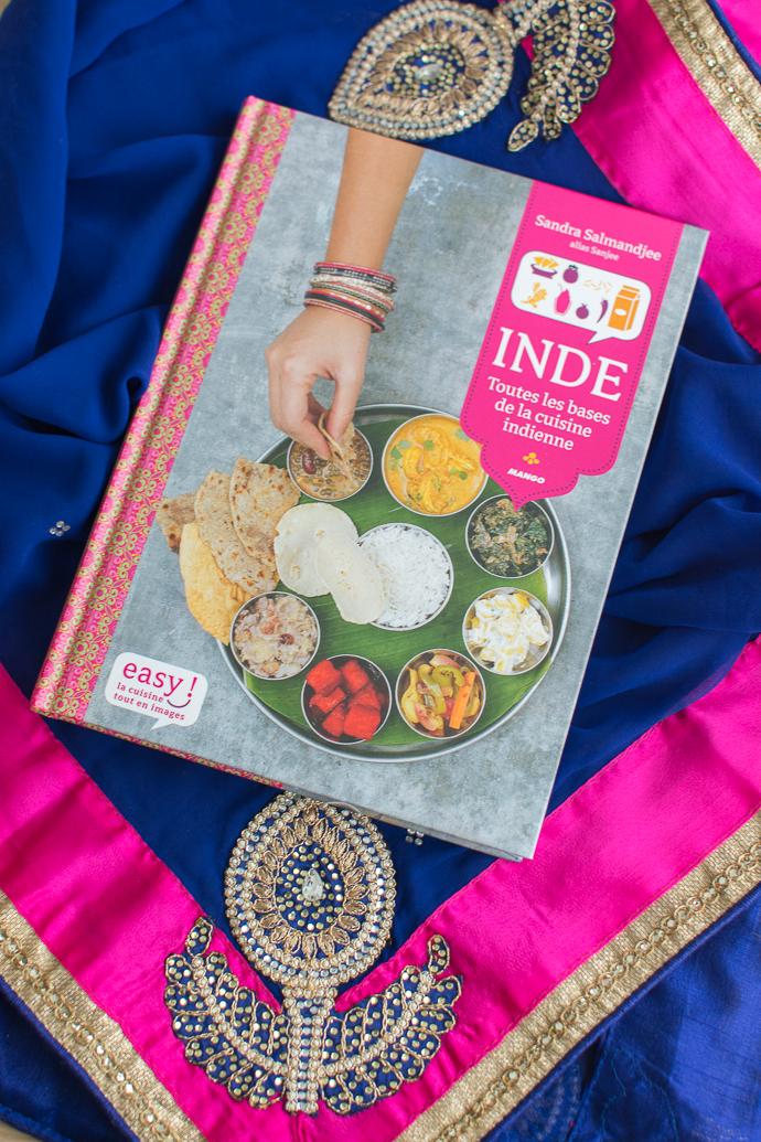 Cuisine indienne de Sandra Salamandjee - editions Mango