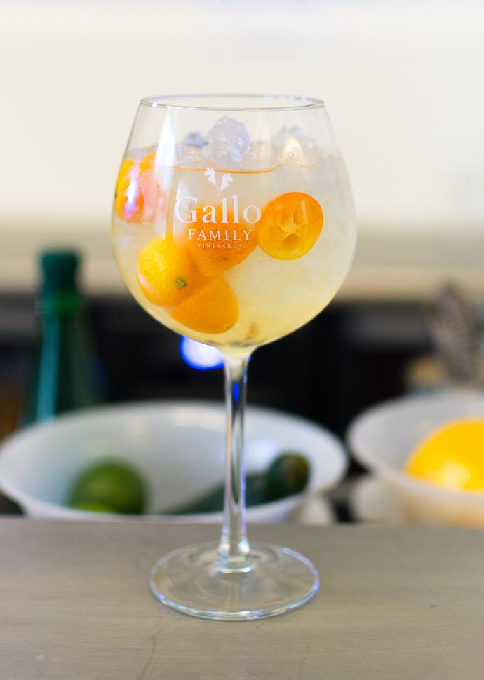 Cocktail vin - Nice thaï Moscato