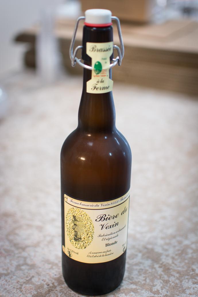Bière blonde du Véxin