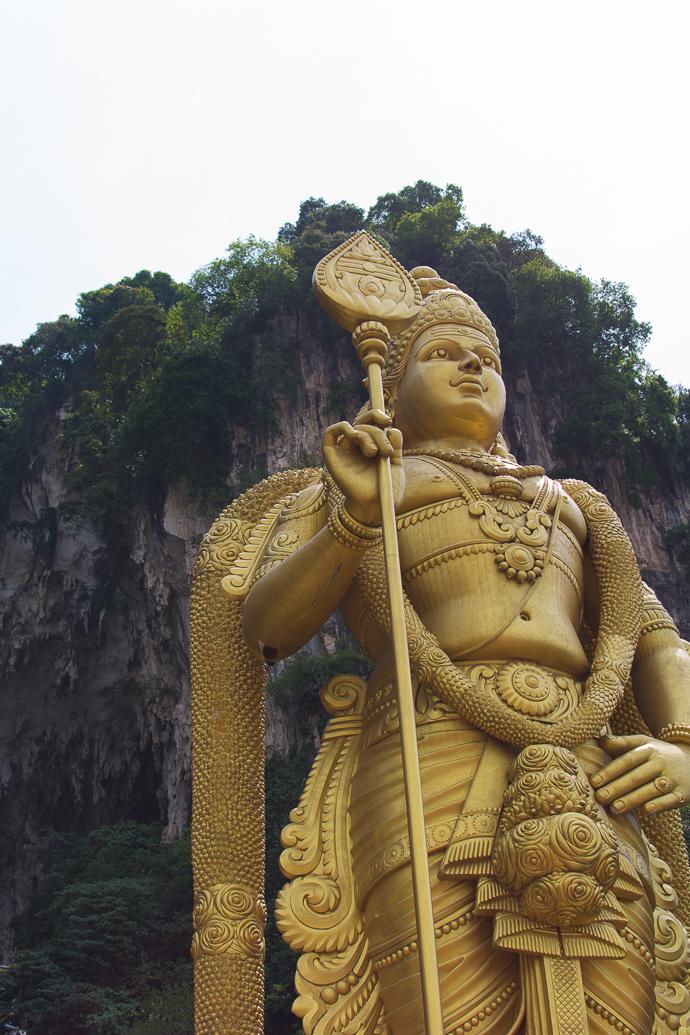 Grottes de Batu, Kuala Lupur, temple hindou