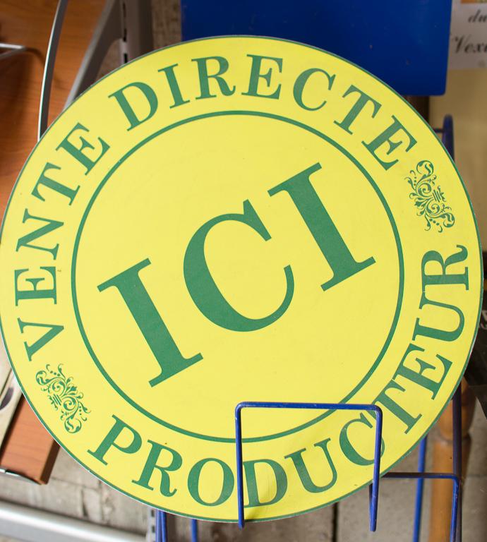 Ecriteau - Vente Directe Producteurs