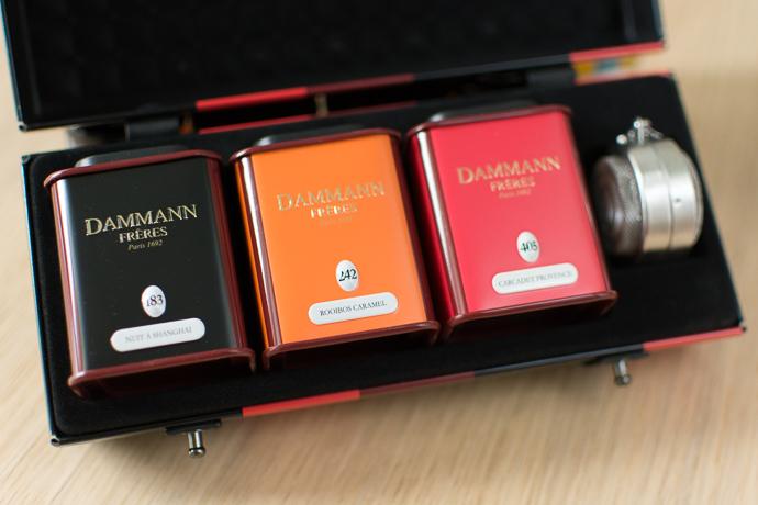 Sélection de thés Dammann Frères