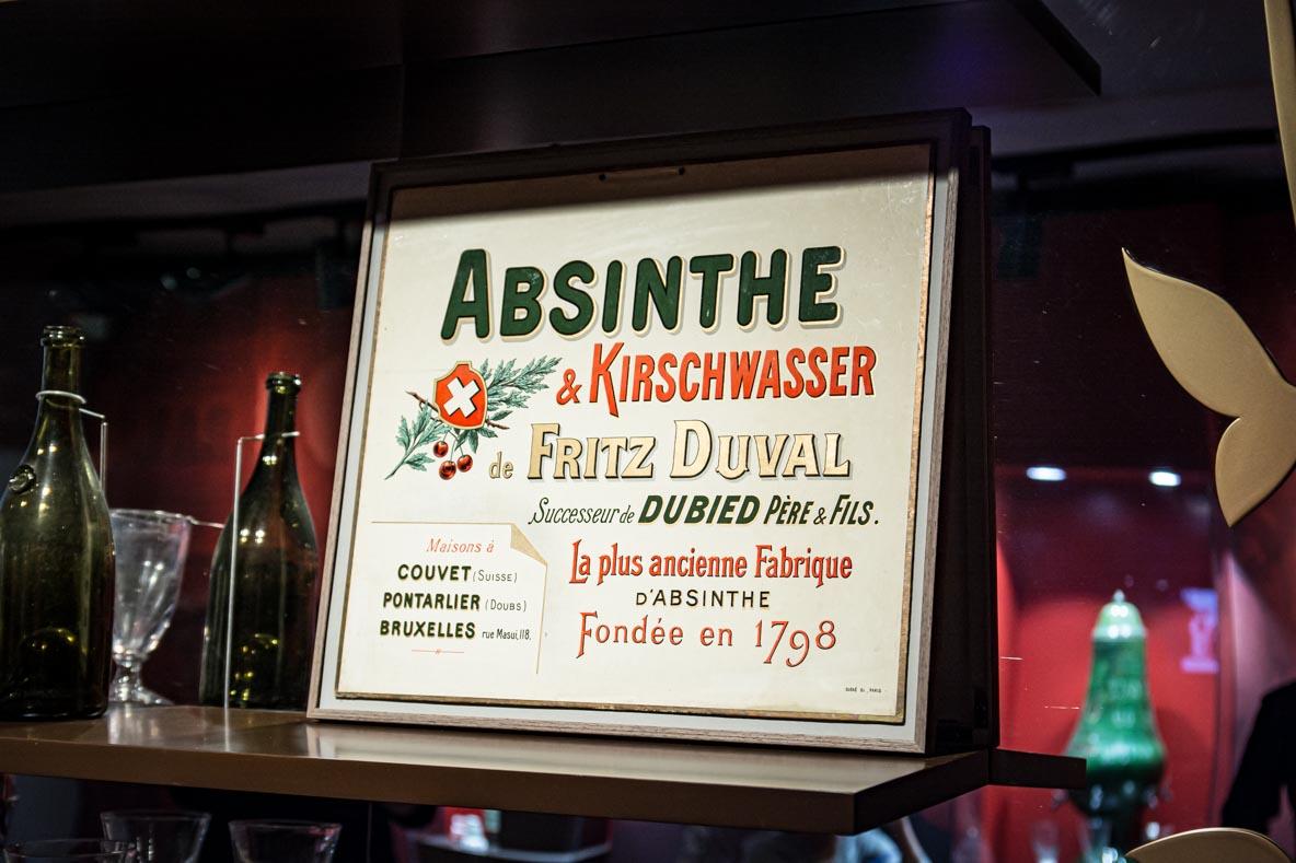 Affiche d'absinthe