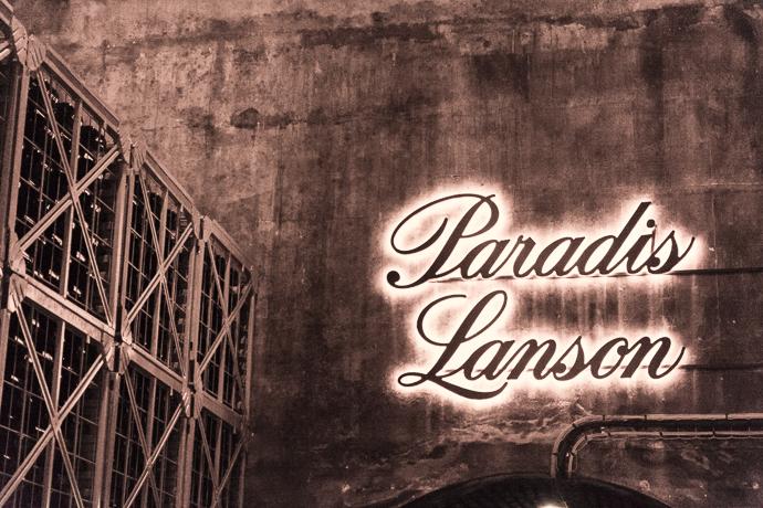 Cave de conservation des champagnes Lanson