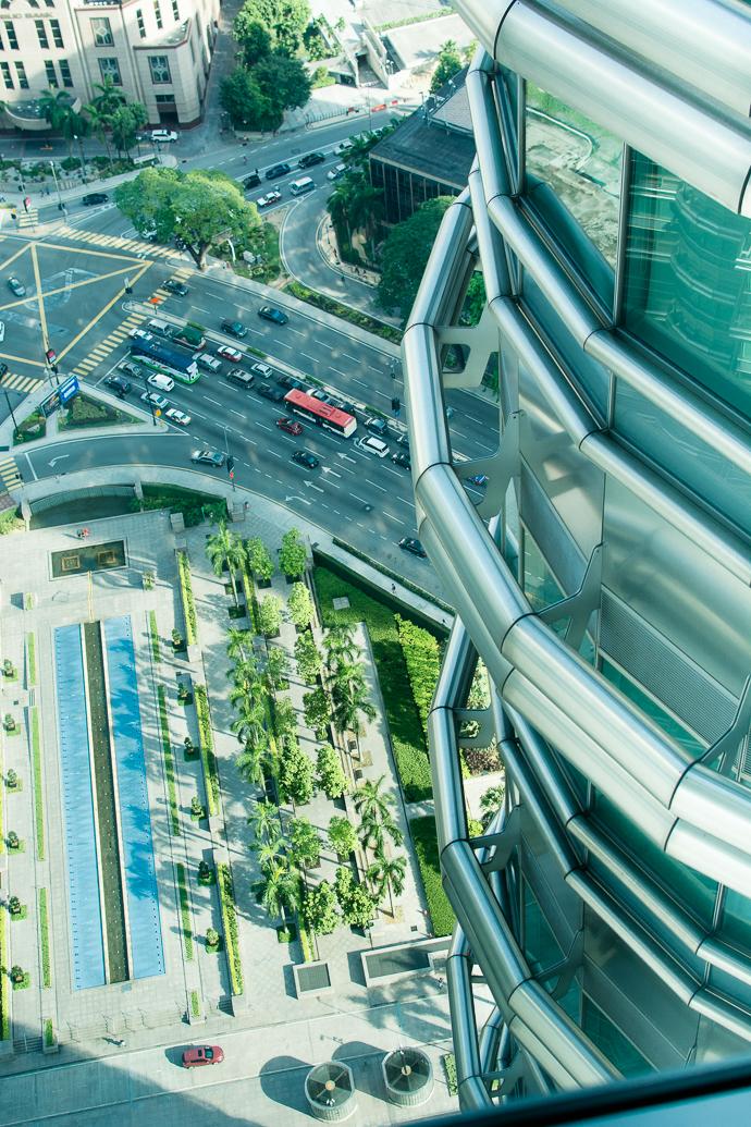 Kuala Lumpur - vue d'en haut
