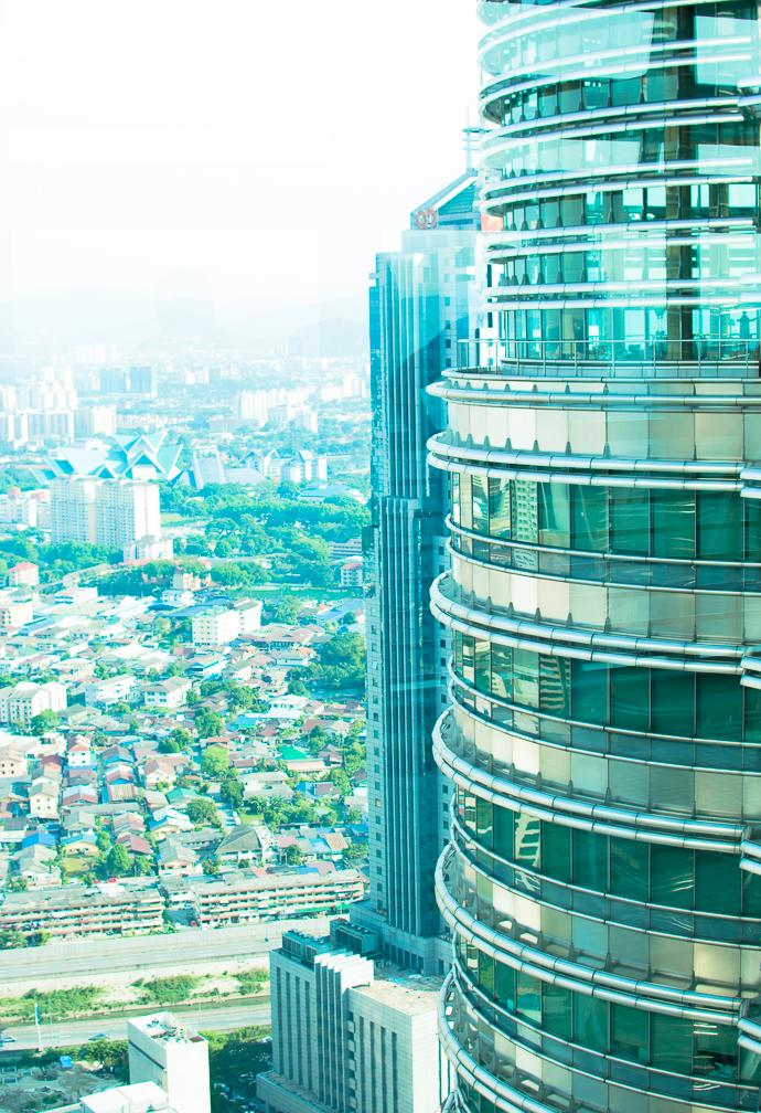 Tour Petronas, une vue incroyable sur la ville