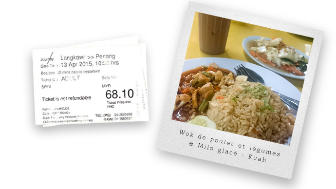 Dîner économique en Malaisie, Langkawi