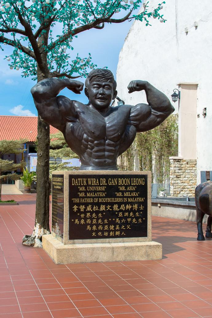Saviez-vous que Malaka était aussi connu pour avoir vu grandir le bodybuilder le plus célèbre de Malaisie ?