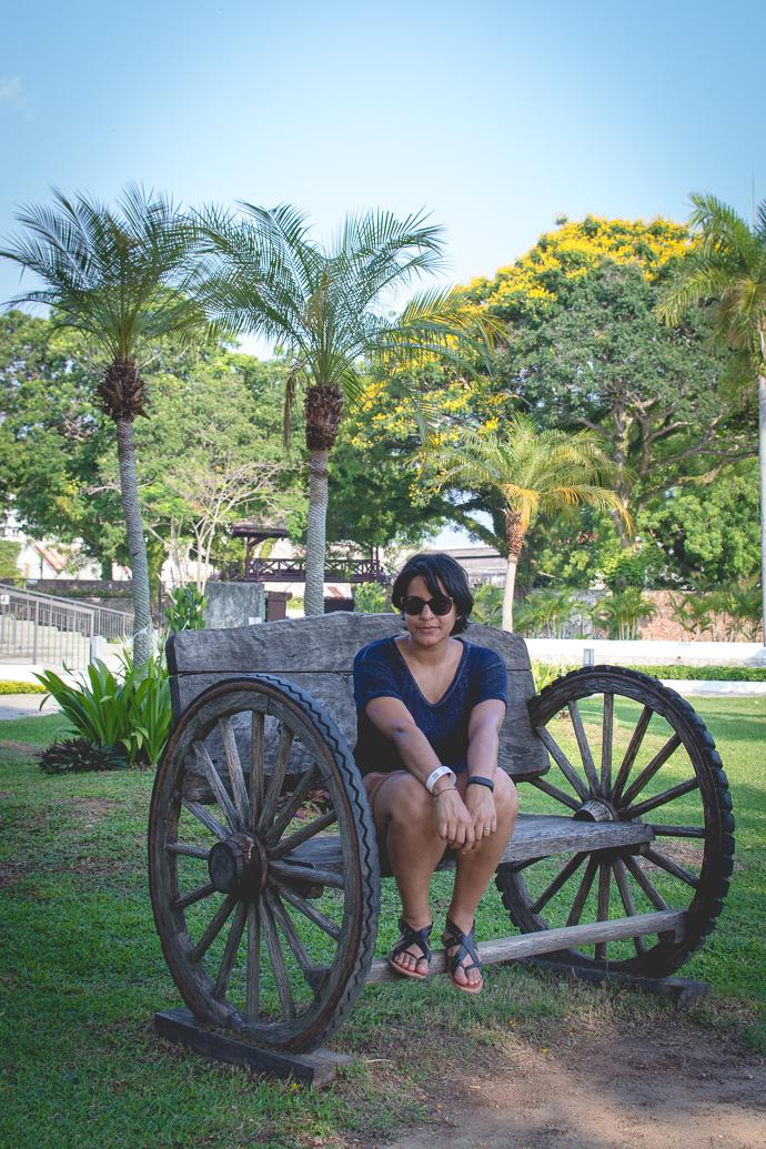 Mythily , Fort Cornwallis, Penang, Malaisie
