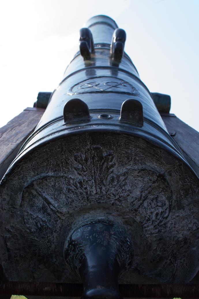 Canon de l'armée Malaisienne qui permettait de protéger l'ile de Pénang au Fort Cornwallis