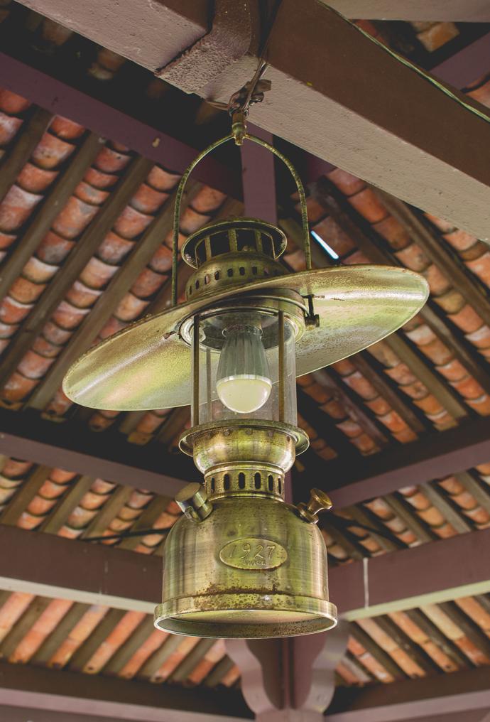 Lampe à huile, Fort Cornwallis, Penang, Malaisie