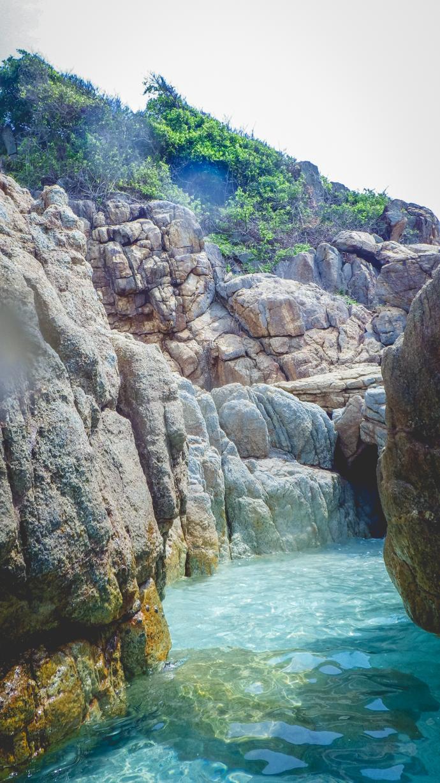 Snorkling dans la mer de Chine, Perenthians, Malaisie
