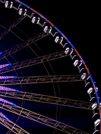 Grande roue à Paris