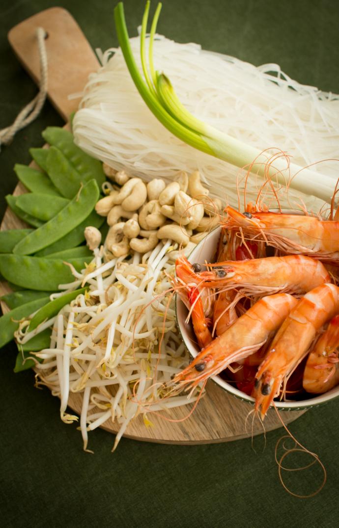 Pad Thaï à la crevette