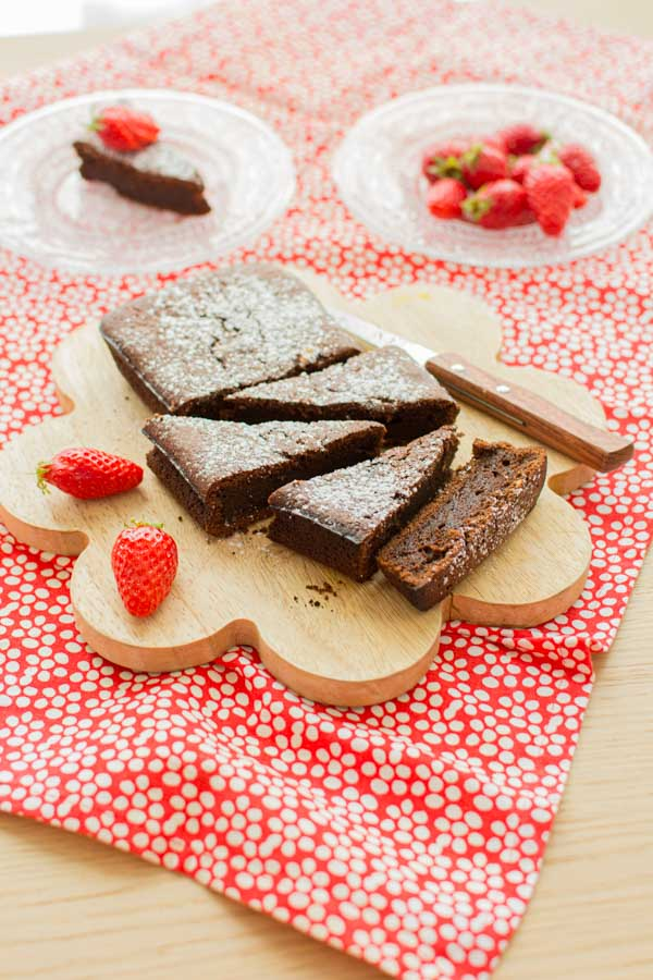 Gâteau au chocolat sans lactose - recette facile