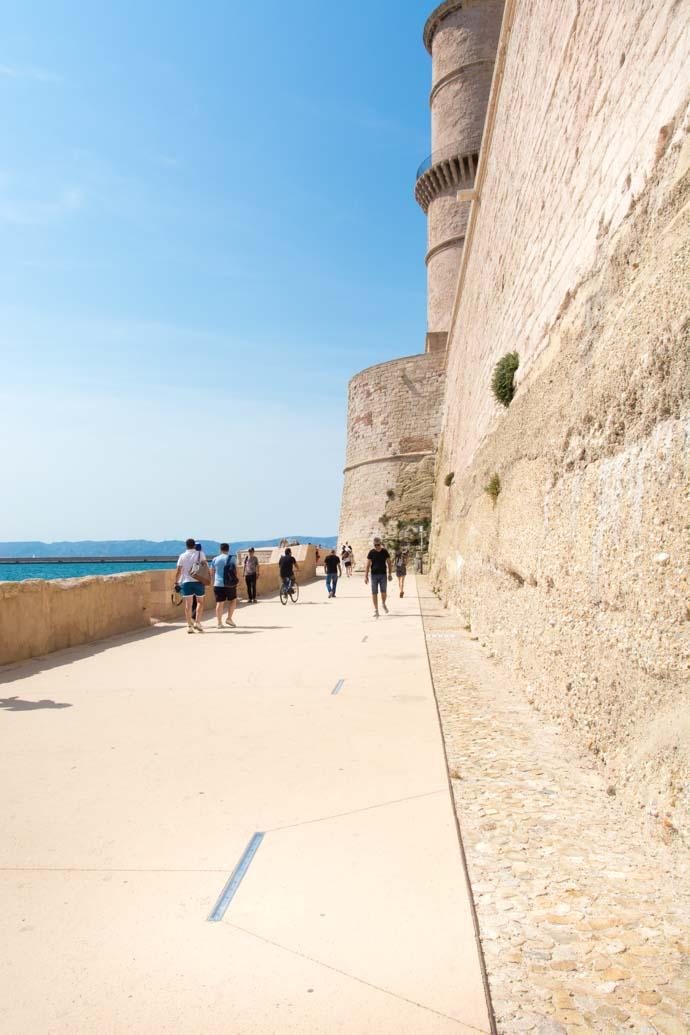 Découverte de Marseille en 48h -un musée en bord de mer