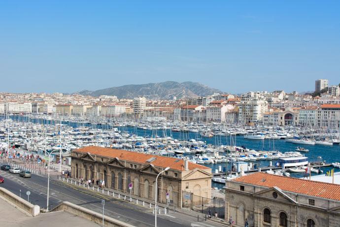 Marseille - vue sur le Vieux Port