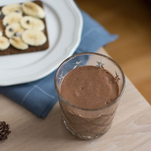 Smoothie Proteine Chocolat Banane Recette Sans Lactose