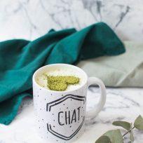 Recette de cappuccino végétal à base de soja et matcha - sans lactose