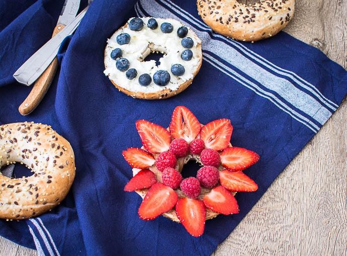 Bagels pour les pique-niques et les beaux jours d'été