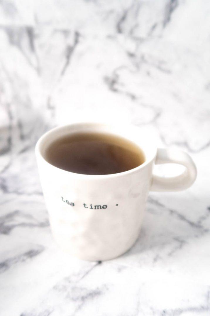 Une bonne tasse d'infusion pour se relaxer en fin de journée - botanic