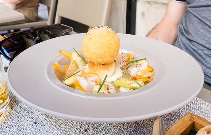 jaune-oeuf-poireaux-vinaigrette-algues-haddock-cru-cuit-geekette-cuisine-fables-fontaine-julia-sedefdjian