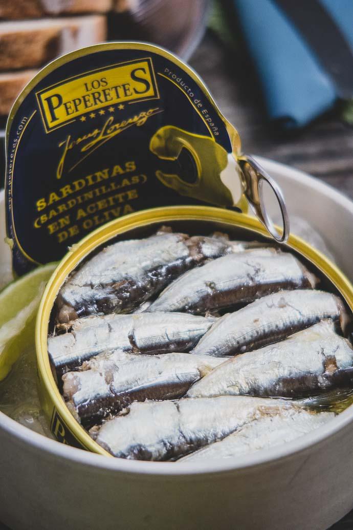 sardines à l'huile d'olive Los peperetes - L'Ouvre Boite à Arles