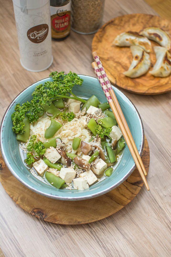 Pour remplacer votre bouillon de légumes habituel, optez pour du thé fumé riche en goût