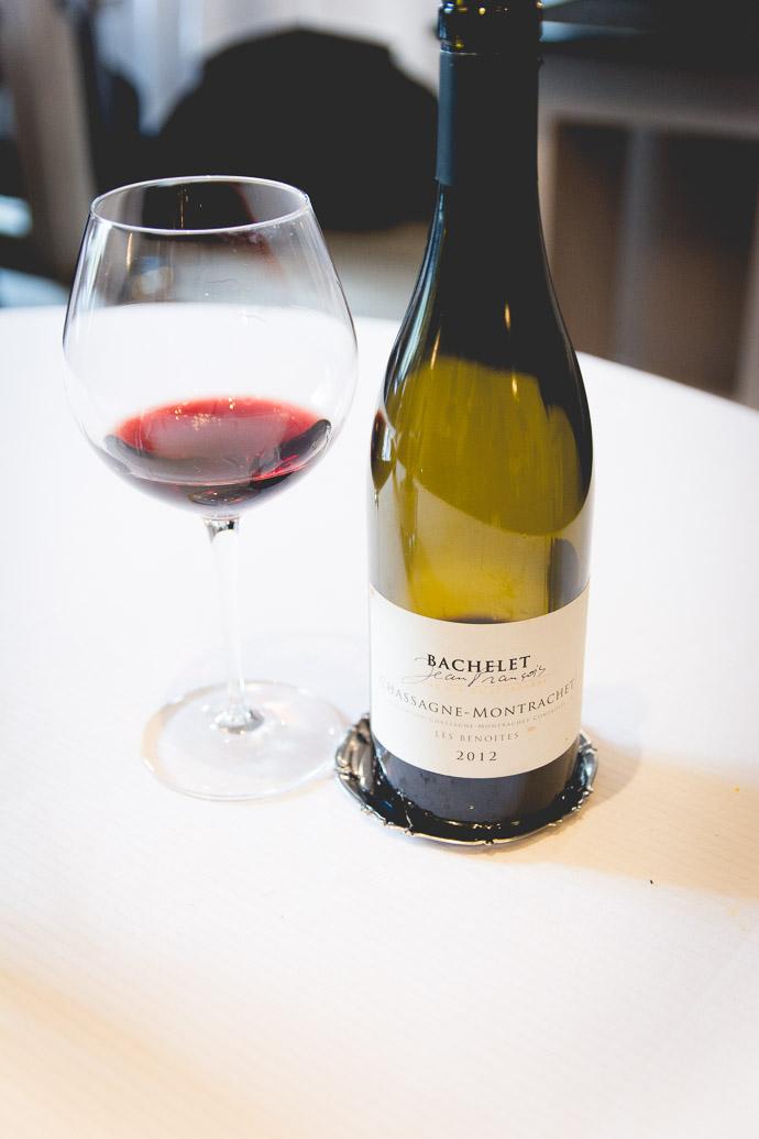 Vin rouge de JEan-Francois Bachelet 2012 - cépage Chassagne-Montrachet