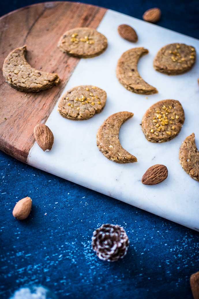 Des biscuits et du marbre pour des fêtes réussies