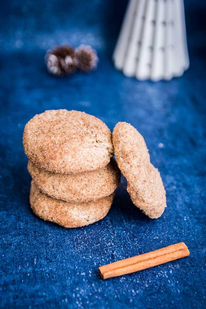 Un beau cadeau gourmand : les snickerdoodle vegan de Mythily
