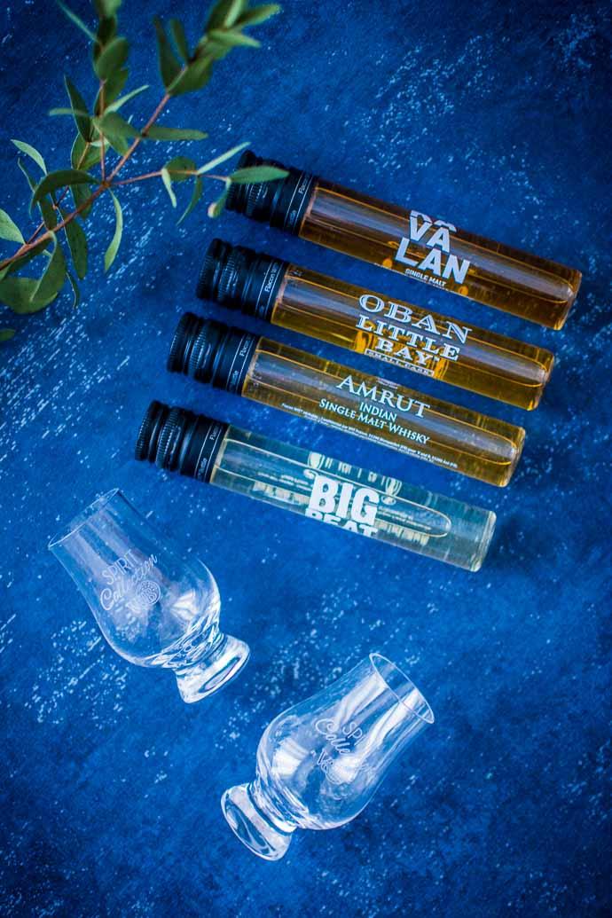 4 fioles qui renferment un délicieux nectar - Spirit Collection vous apporte les plus grandes bouteilles en format mini