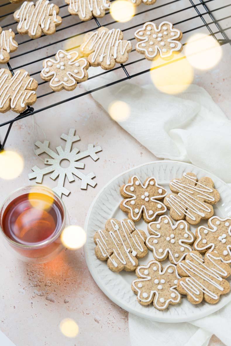 Recette facile de sablés de Noël au glaçage royal facile