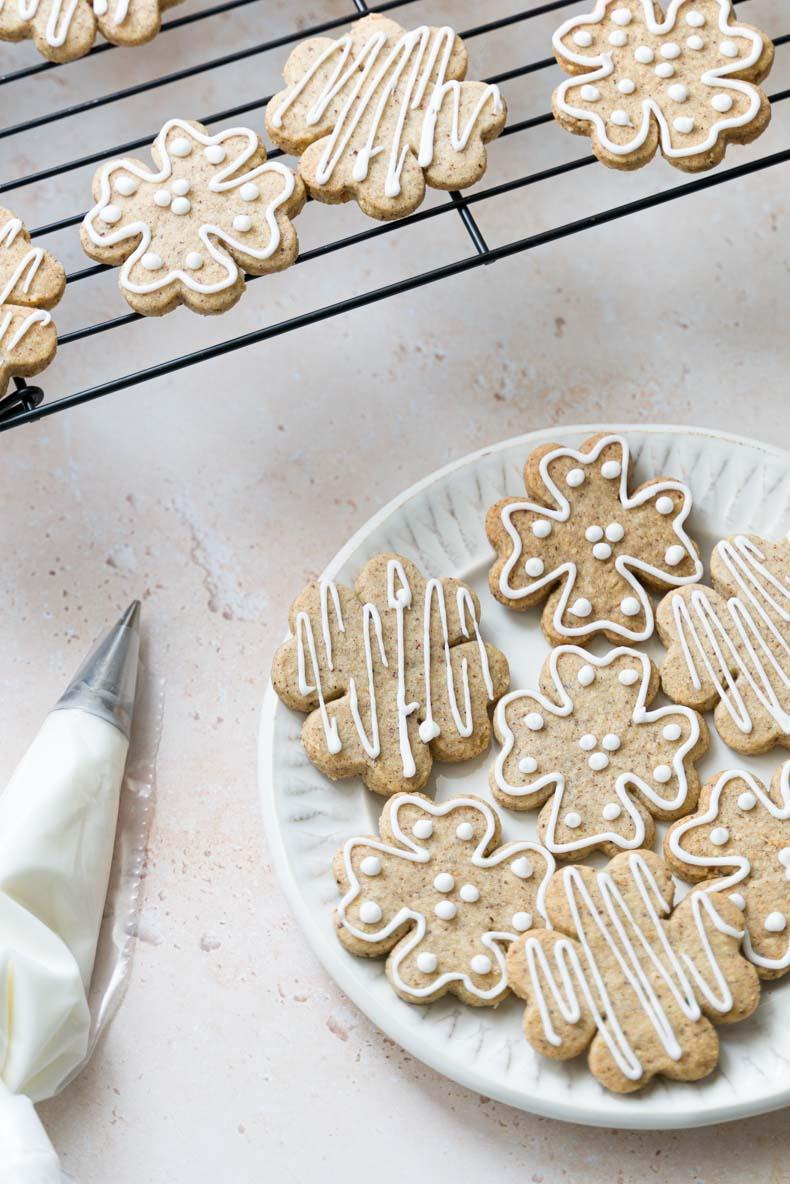 Recette de sablés à la noisette torréfiée - biscuits de fêtes faciles et sans lactose
