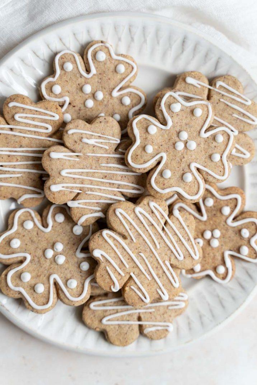 Recette de biscuits à la noisette grillée - sablés facile et sans lactose