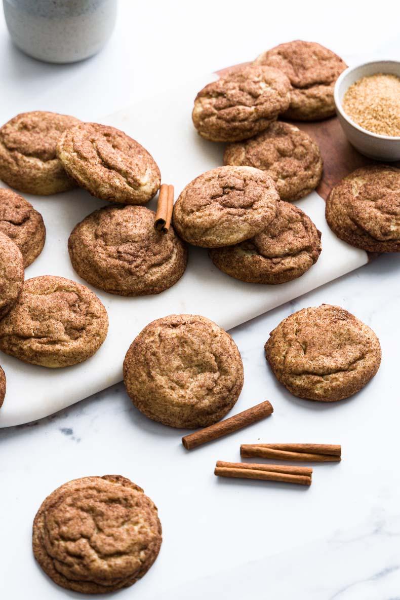 Snickerdoodles végétaliens - recette sans lactose