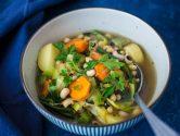 De gros morceaux de légumes et des féculents pour un repas complet et équilibré