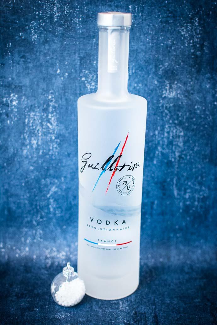 Vodka française Guillotine à base de raisins français