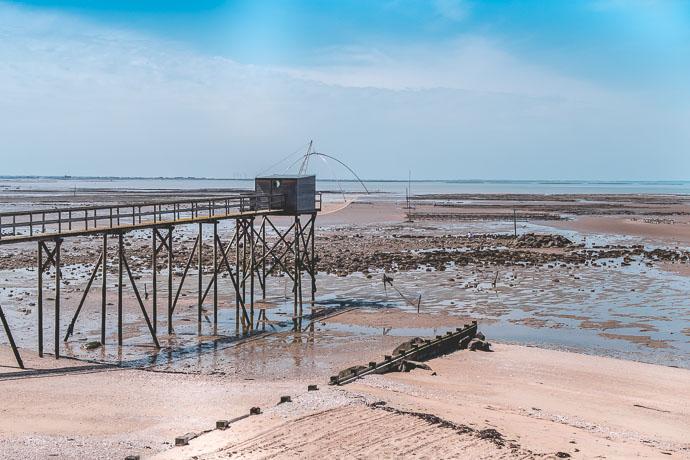 Une cabane de pêcheur au bord de la mer... Voilà ce qui fait le charme du Muscadet