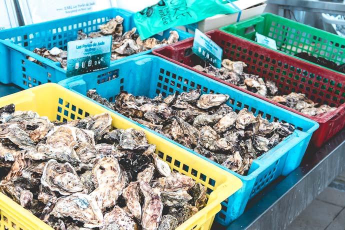 Des fruits de mer à perte de vue à la Perle de Jade