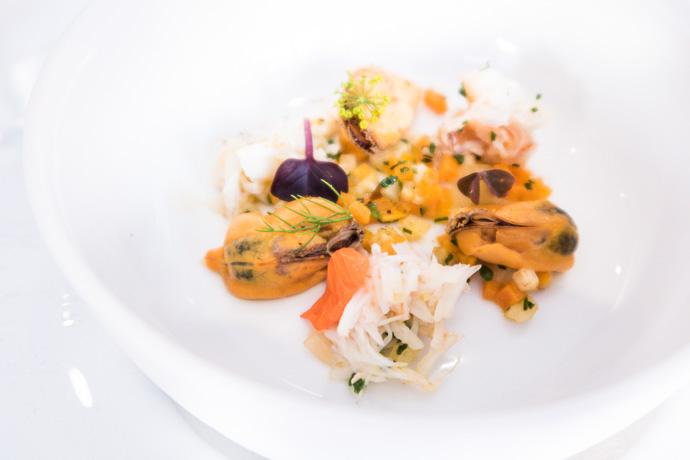 La cuisine de Mathieu Guibert : iodée et inventive