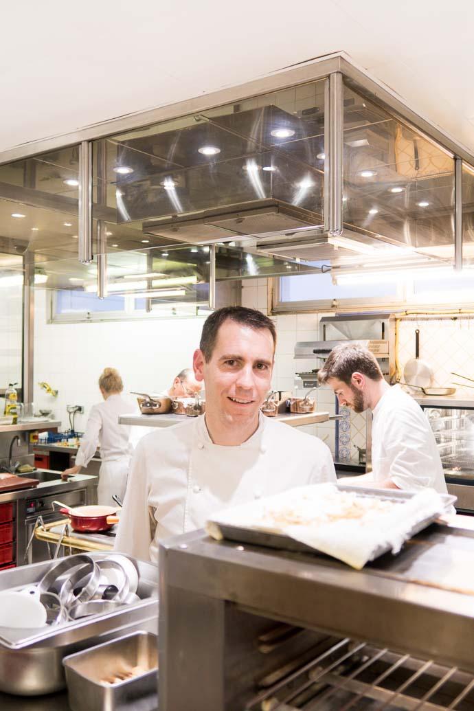 Mathieu Guibert - Un chef étoilé de Saint Michel Chef Chef - Hotel Anne de Bretagne