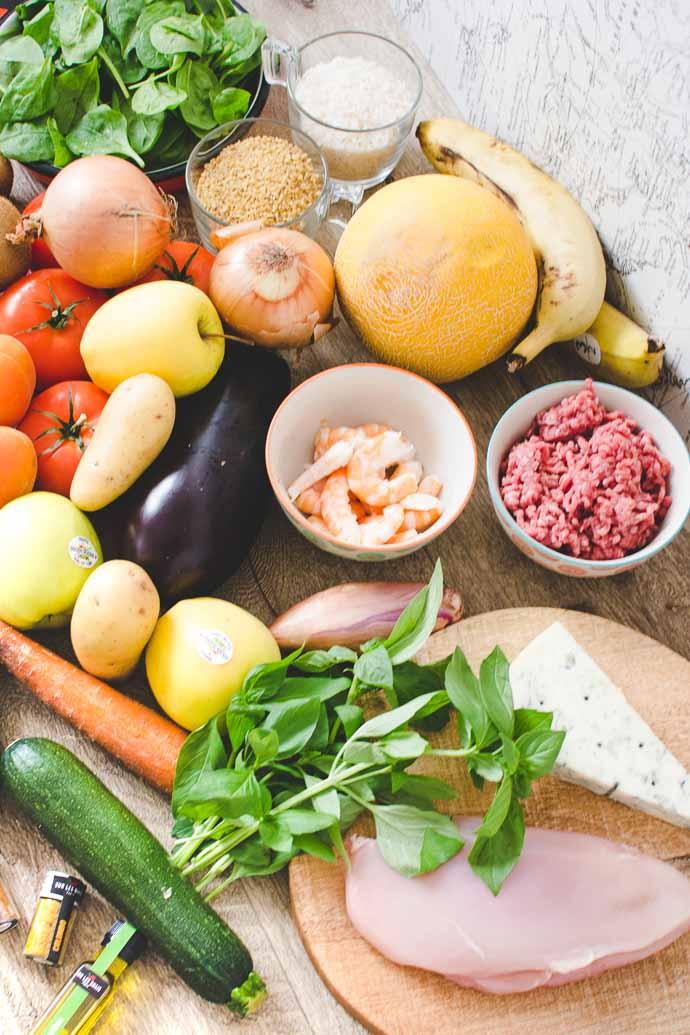 Fruits et légumes de saison avec les paniers QuiToque