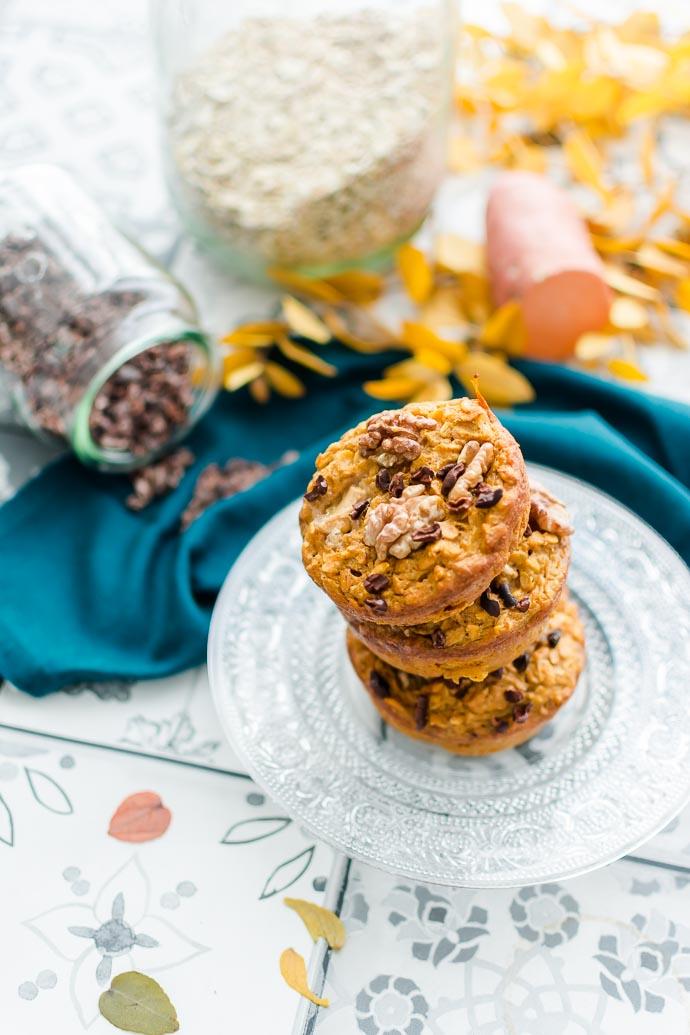 Une alternative aux gâteaux industriels très sucré, gras et salé ? Optez pour les gâteaux à la patate douce