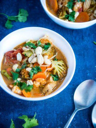 Tom Yam - recette traditionnelle thaïlandaise
