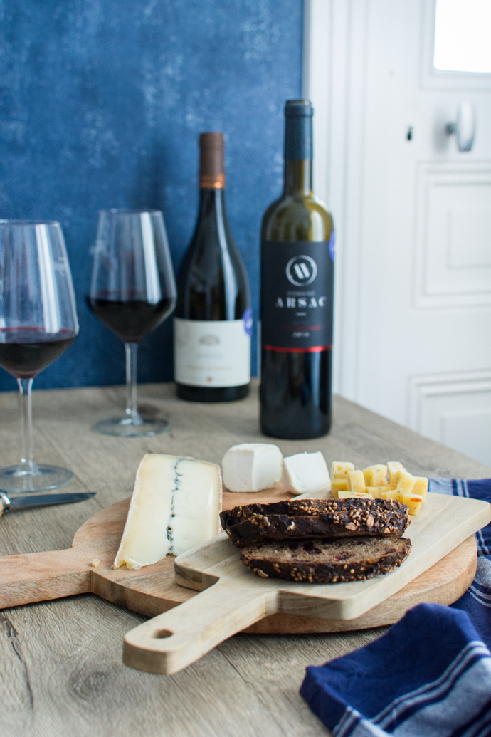 Un moment à deux autour de bons vins français - Antica du Domaine Prapin et Les Aoutres du Domaine Arsac