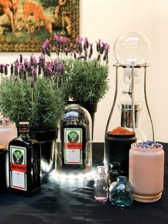 Cocktail floral Jägermeister - le Oh Deer
